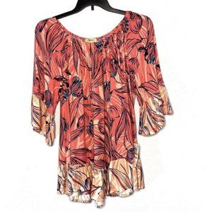 NWT Style & Co. Plus Peplum Off the Shoulder Top